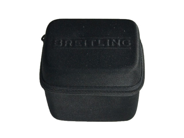 Breitling EVA luxury jewelry box watch storage case embossed logo with memory foam inside rectangle shape